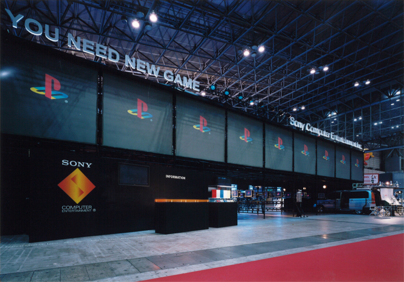 Tokyo Game Show 2003   Sony Computer Entertainment Booth