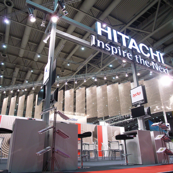 Cebit 2009 HITACHI Booth